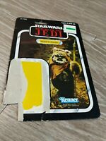 Star Wars -Return of the Jedi - Wicket W Warrick - Vintage Cardback