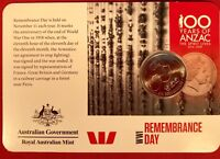 2015 anzacs remembered 20 Cent Australian Decimal Coin Remembrance Day