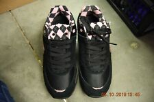 Black and Pink Capezio/Frontline Sneakers - F1010 - Size UK 3