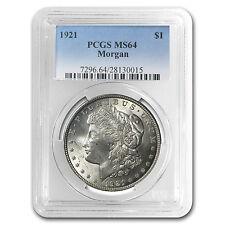 1921 Morgan Silver Dollar MS-64 PCGS - SKU #23352