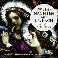 NIKOLAUS/LEONHARDT HARNONOCURT - WEIHNACHTEN MIT J.S.BACH-A BACH CHRISTMAS  CD N