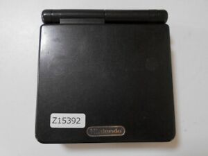 Z15392 Nintendo Gameboy Advance SP Onyx Black console GBASP Express