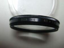 FILTRE 49 mm BONNETTE +4 pour objectif photo photographie