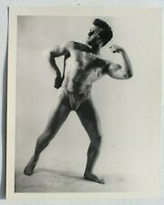 Vtg 50s Male Beefcake KRIS STUDIO Gay Physique Richard Allen B&W Photo Series #3