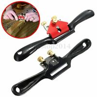 "9"" Metal Woodworking Blade Spoke Shave Manual Planer Plane Deburring Hand Tools"
