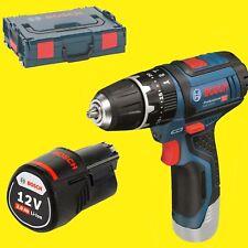 Batterie Bosch Perceuses-Visseuses à Percussion Gsb 12V-15+1x 2,0 Ah en L-BOXX
