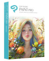 Clip Studio Paint Pro Win/Mac - Manga, Ilustration & Animation - New Retail Box