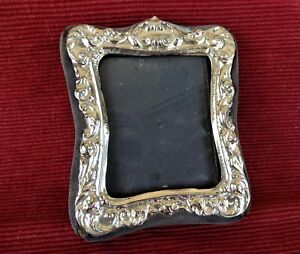 Lovely sterling silver fronted photo frame