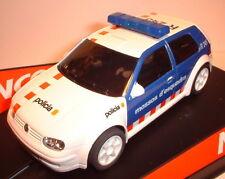 qq 50320 NINCO VW GOLF MOSSOS D'ESQUADRA LIGHTS ( POLICIA - POLICE - POLIZEI )
