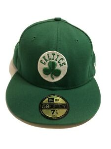 Boston Celtics New Era 59Fifty Hardwood Classic 7 1/2 Fitted Cap Hat