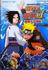 Naruto Shippuden: Ninja Destiny 3 Gekishou Ninhiden Official Guide Book DS