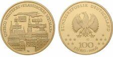 Deutschland 100 Euro 2006 Weimar Goldmünze der UNESCO Serie G