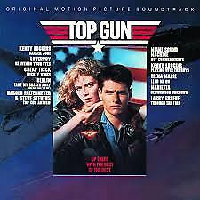 Top Gun by Original Soundtrack (CD, Aug-1986, CBS Inc) Made in Japan