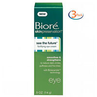 3 Pack - Biore Skin Preservation Fortifying Eye Cream 5 Oz