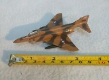 Vintage Diecast F-4C Phantom Desert Camo Fighter Bomber A118 Toy Aircraft Zylmex