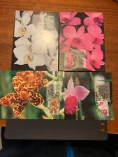 1998 MAXI CARDS FDC  -  NATIVE ORCHIDS    4v set