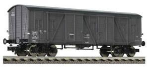 """Fleischmann HO 85 5390 - gedeckter Güterwagen SNCF - Brit. US Zone in OVP """"NEU"""""""
