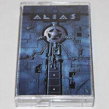 Alias S/T Heavy Metal Cassette Tape Power Metal w/ Members of Heart & Sheriff