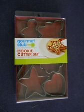 New listing Six Piece Cookie Cutter Set