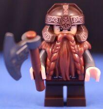 LEGO® LORD OF THE RINGS™ 79008 GIMLI™ Dwarf Minifigure + HELMET & Hand AXE