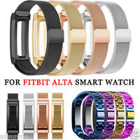 Stainless Steel Watch Band Wrist strap For Fitbit Alta Smart Watch
