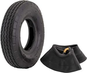 "Marathon 2.80/2.50-4"" Pneumatic Air Filled Hand Truck / Utility Cart Tire and"
