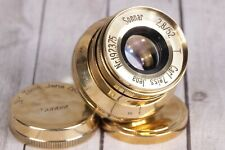 SONNAR Carl Zeiss Jena gold 2.8/ 52mm M39 Germany Lens for Leica ( replica )