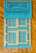 "Grandt Line O #3754 Horizontal Window -- 6-Pane - Scale 40 x 28"" 102 x 71.1cm pk"