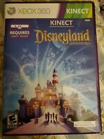 Xbox 360 Game Kinect Disneyland Adventures Microsoft Game With Case