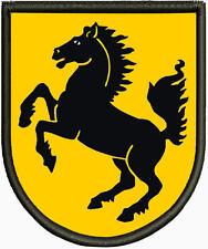 Wappen von Stuttgart Patch, Aufnäher, Pin ,Aufbügler.