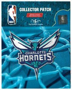 Charlotte Hornets Patch Official NBA Basketball League Logo Memorabilia Hornet