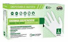 Derma Defender Powder-Free Nitrile  Disposable, Size Large - Case of 1,000