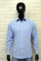 Camicia Uomo BALENCIAGA Taglia Size 39 Chemise Maglia Shirt Man Stretch Cotone