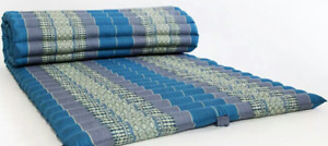 "21Thai Roll up Mattress Cushion Camping Day Bed kapok100% 79""x30""x2"" Massage Mat"