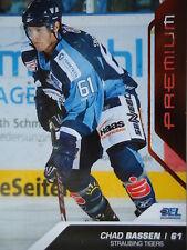 394 Chad Bassen Straubing Tigers DEL 2009-10 Premium Bronze