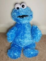 COOKIE MONSTER FROM SEASAME STREET SOFT TOY PLUSH FREE P&P