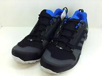 Adidas Outdoor Men's Shoes Terrex AX3 Low Top, Blackblue/lime green, Size 15.0 2