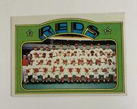 1972 Topps Cincinnati Reds Team # 651 Baseball Card