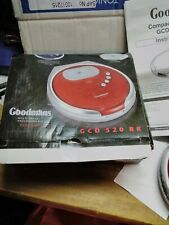 Goodmans Personal CD Player GCD 520 RR with earphones boxed and working