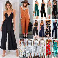 New Women Ladies Playsuit Party Jumpsuit Romper Long Trousers Pants Clubwear Lot