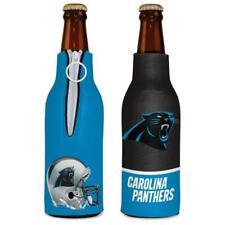 Carolina Panthers 12oz Two Sided Bottle Cooler [New] Nfl Can Holder Foam Koozie