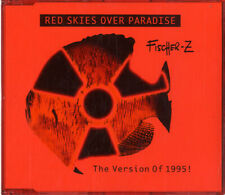 """Red Skies Over Paradise - Shaped CD Fischer-Z CD single (CD5 / 5"""") Dutch"""