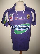 Austria Lustenau MATCH WORN football shirt SIGNED soccer jersey trikot size M