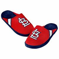 St. Louis Cardinals Jersey Mesh SLIDE SLIPPERS New - FREE SHIPPING - MLB