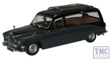 DS008 Oxford Diecast 1:43 Scale Daimler Hearse Black/Carlton Grey DS420