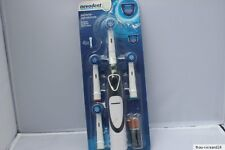 NEVADENT Zahnbürste Reisezahnbürste 4 Bürsten + Batterien Versand kostenlos ;-)