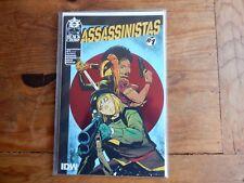 Assassinistas #1 Foil Variant Black Crown comics 2017