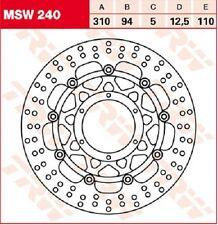 TRW Lucas DISCHI FRENO (KIT) ANTERIORE HONDA CBR 600 RR (pc37/40) 03 >