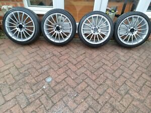 """4x Vw Golf GT mk6 18"""" Alloy Wheels And Tyres"""