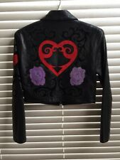 Vintage John Michael Women's Leather Jacket Large